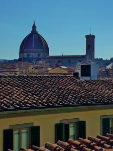 Vista Duomo dal terrazzo